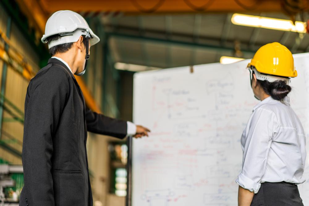 Profissionais graduados em Engenharia de Produção no exercício da profissão